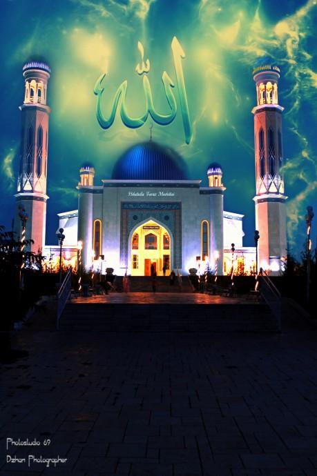 Мечеть в городе Тараз
