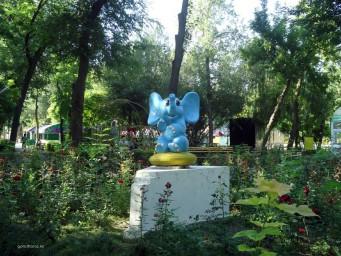 Слоник в парке