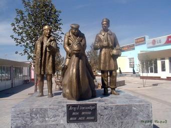 """Памятник героям к/ф """"Джентельмены удачи"""""""