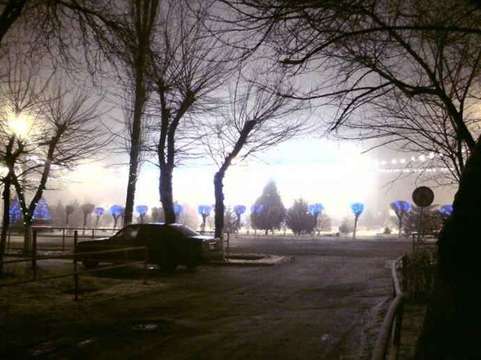 Облакимат в тумане