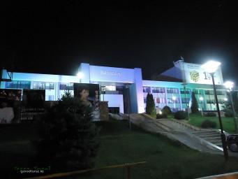 Баласагун ночью
