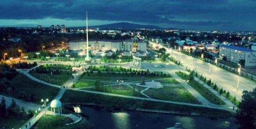 Панорама. Президентский парк