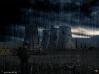 Градирни ГРЭС после катастрофы