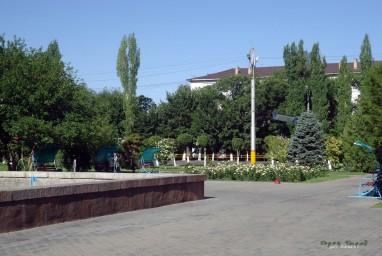 Площадка перед облакиматом