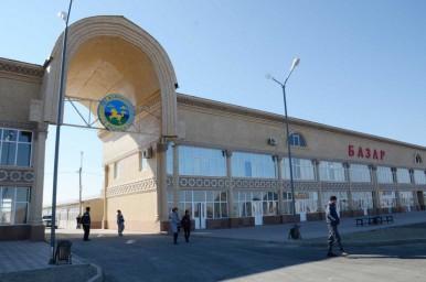 Новый центральный торговый комплекс (базар)