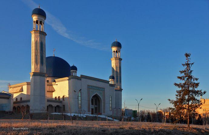 #Тараз.  Центральная мечеть