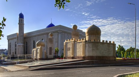"""#Тараз.  Мечеть """"Кеңесхан қажы"""""""